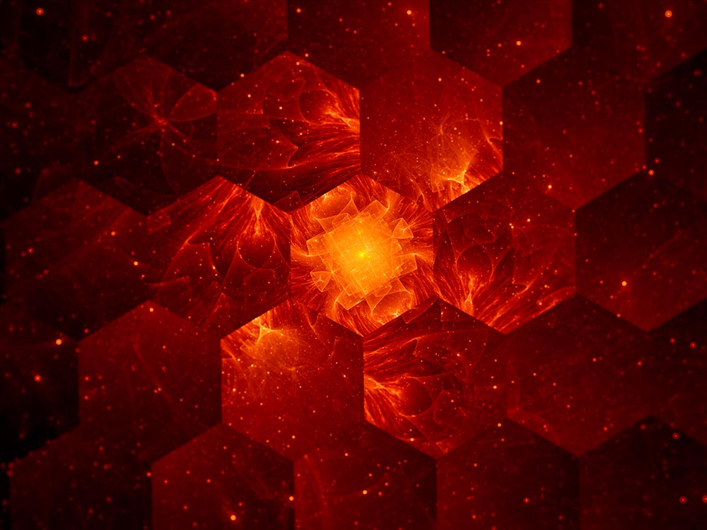 Graphene grid abstract background, nanotechnology